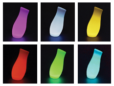 Several Color Phases of the Lamp